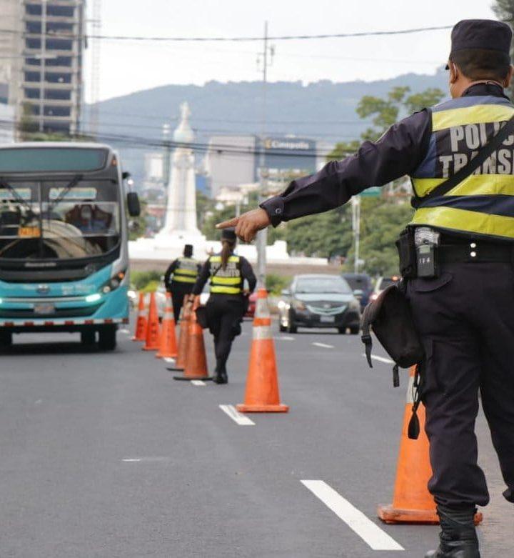Múltiples accidentes de transito
