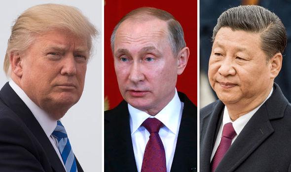 Escenario actualizado de la llamada Nueva Guerra Fría. Estados Unidos, Rusia y China