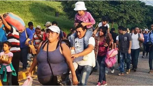Caravanas Hondureñas con destino México.