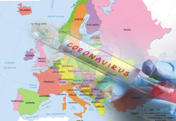 Europa enfrenta preocupante repunte de contagios por COVID19