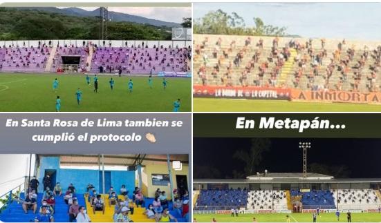 Afición respeta medidas de seguridad en los estadios