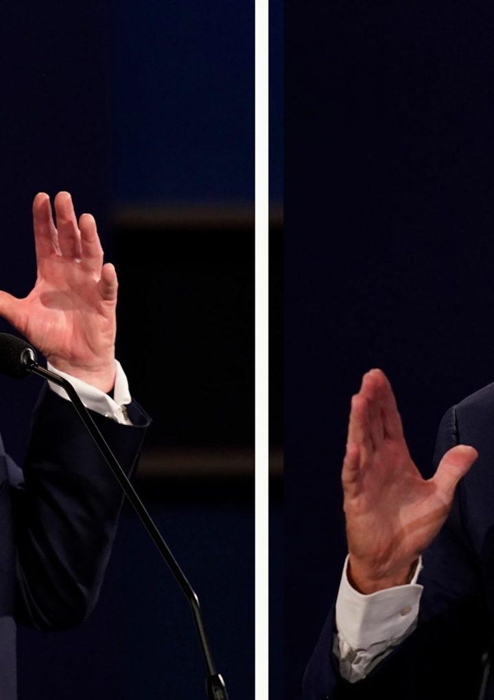 Micrófonos silenciados para último debate Trump-Biden.