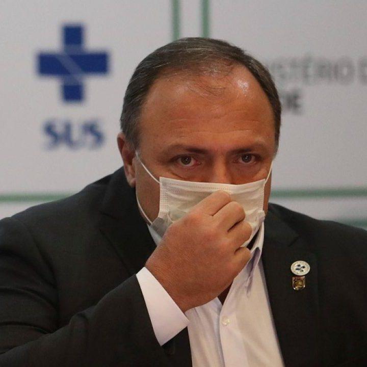 Ministro de Salud brasileño COVID19 positivo.