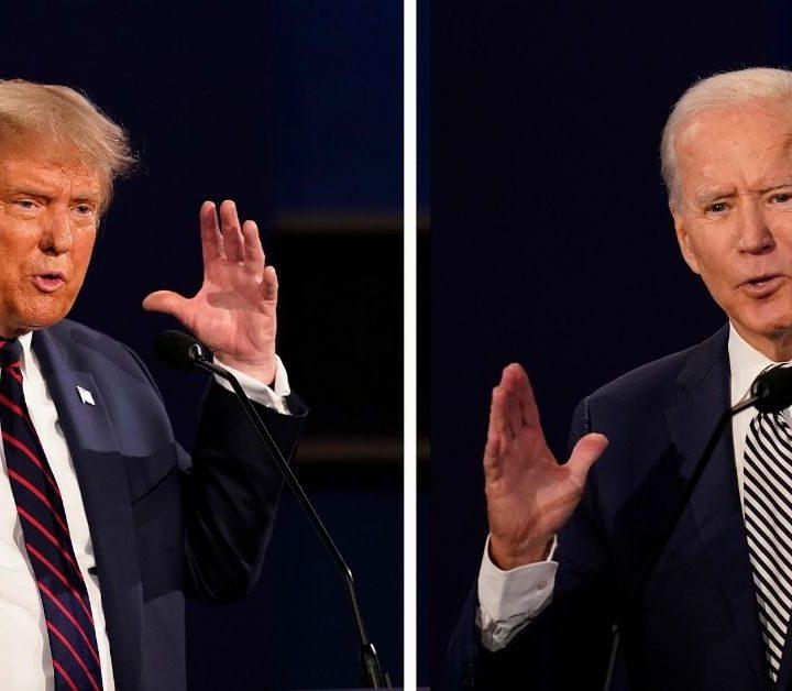 Último debate entre Donald Trump y Joe Biden