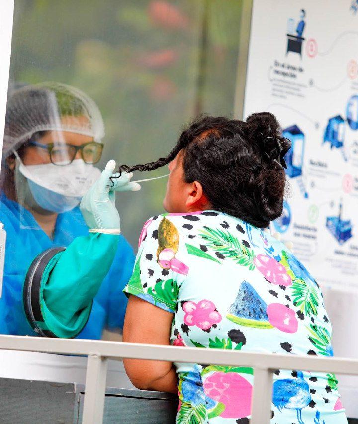 El Ministerio de Salud realiza pruebas de COVID en Ciudad Arce