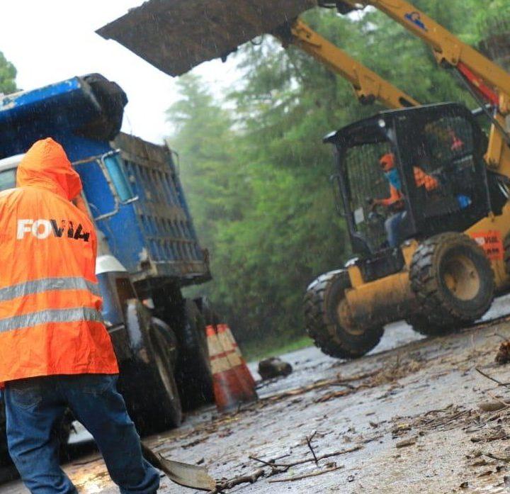 Siguen trabajos de mitigación de desastres