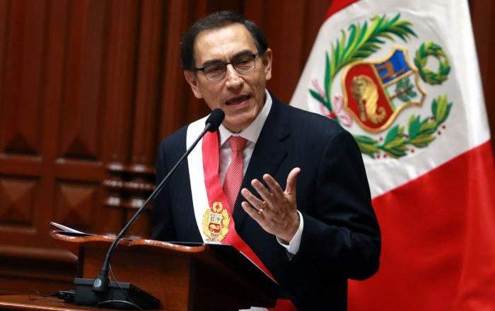 Martín Vizcarra, fuera del gobierno.