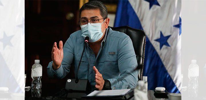 Presidente de Honduras plantea situación del país al G-16