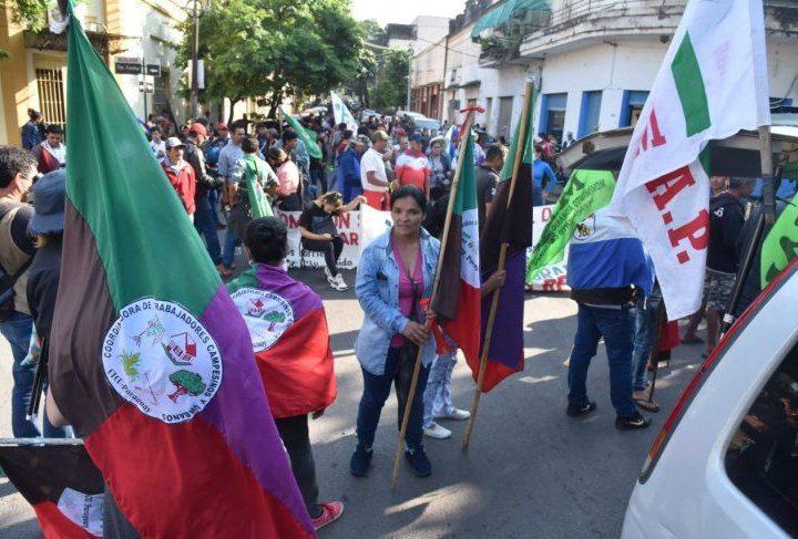 Campesinos en Paraguay denuncian boicot político