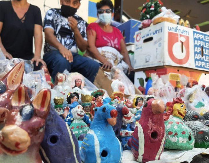 Vendedores de Usulután se preparan para la navidad