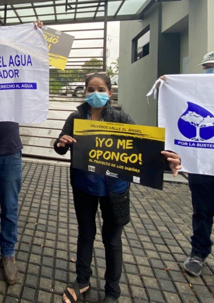 Solicitan se revisen  los permisos para el  proyecto Urbanistico del Valle   El Ángel