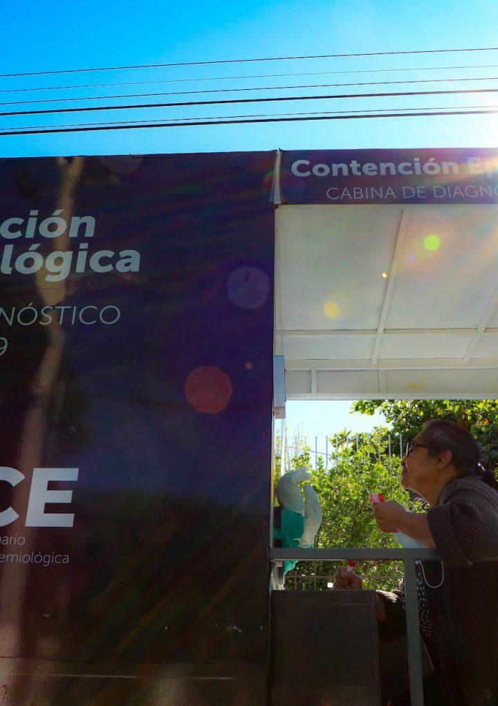 El Ministerio de Salud realiza pruebas de COVID en el municipio de Apastepeque en San Vicente