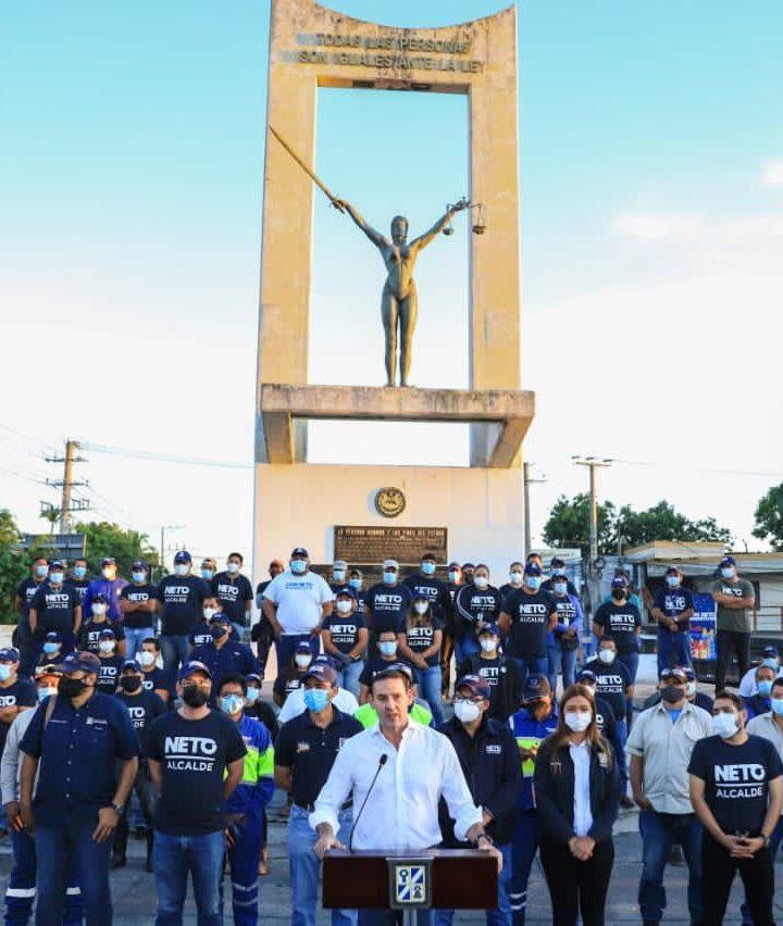 La alcaldía de San Salvador lanzó una jornada de limpieza en seis distritos de la capital