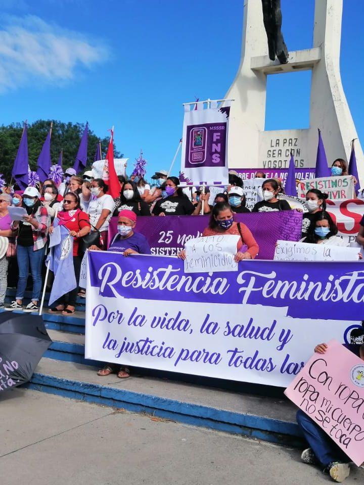 Organizaciones  denuncian feminicidios y invisibilidad de los derechos de las mujeres