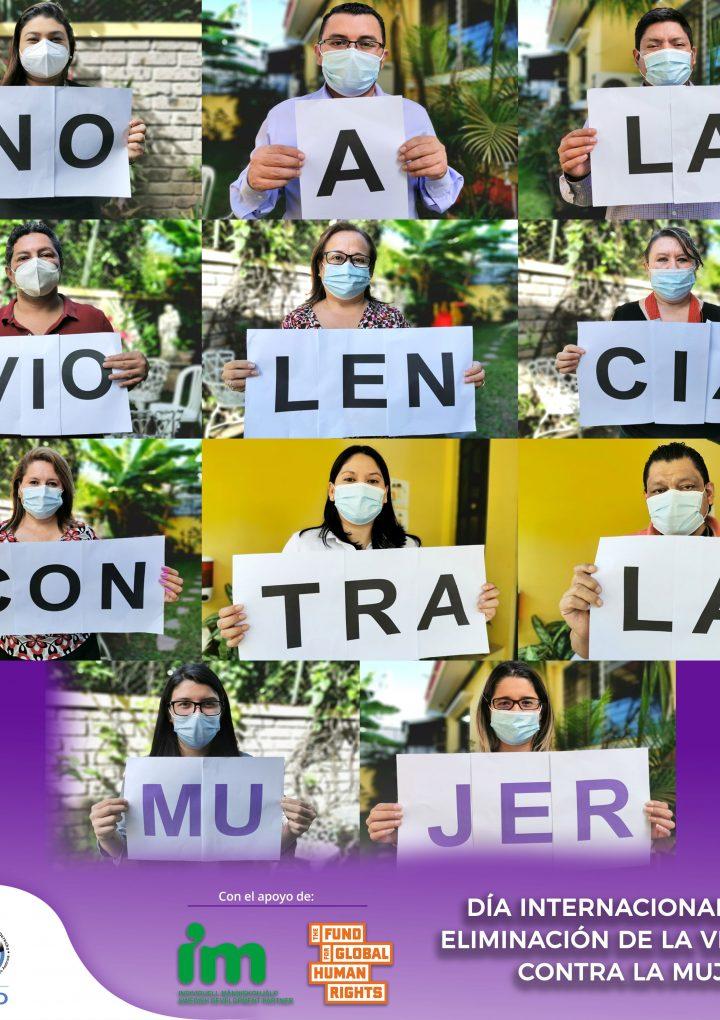 FESPAD demanda al  Estado salvadoreño  generar las condiciones óptimas para que disminuyan todas las formas de violencia hacia las mujeres