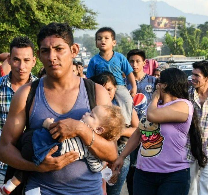 Hondureños concentrados en fronteras con Guatemala