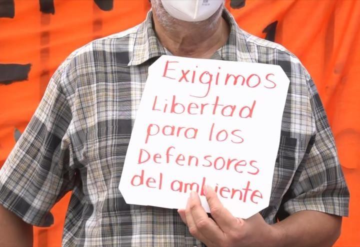 Exigen liberación de ambientalistas en Honduras