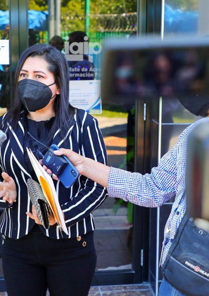 Interponen denuncia contra diputada Cornejo por revelar información