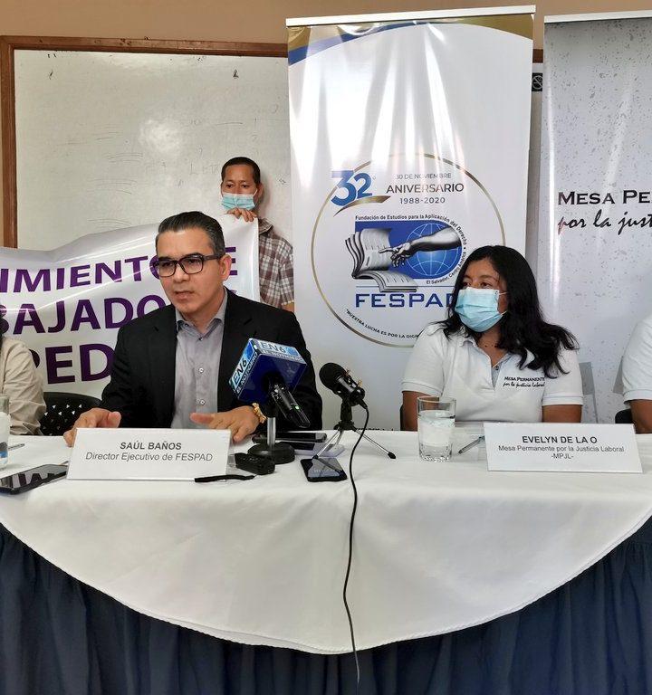 Movimiento de Trabajadores Despedidos exigen a la Corte Suprema de Justicia celeridad y justicia en sus procesos judiciales