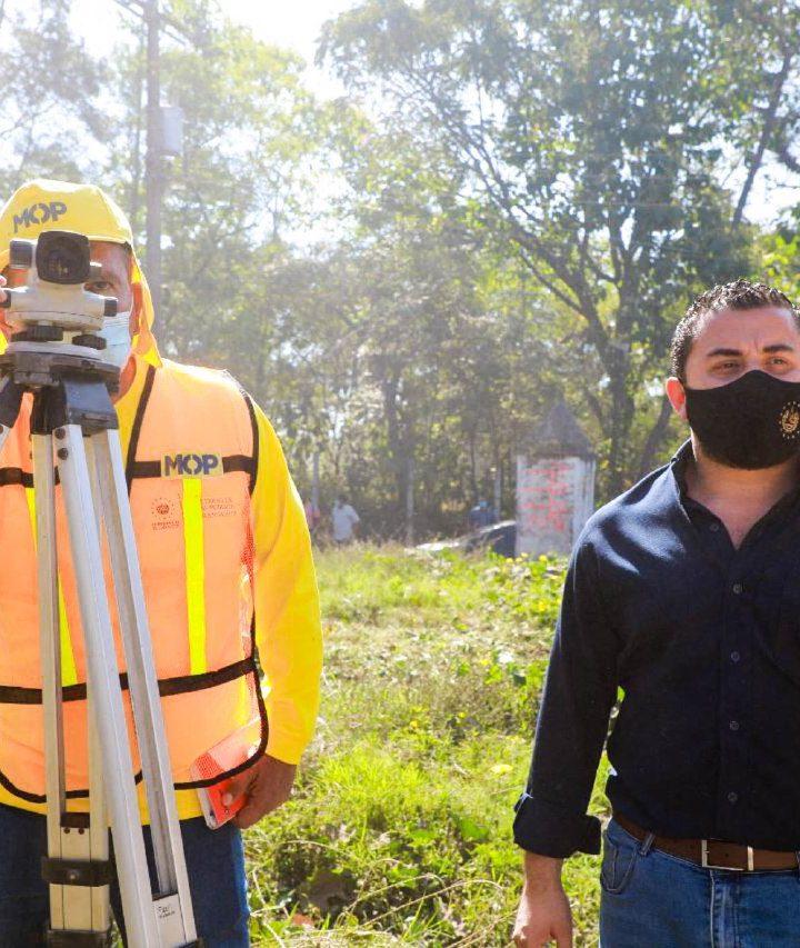 Inaugura apertura y ampliación de la carretera que conecta al cantón La Magdalena-El Coco, en Chalchuapa, con el municipio de Jerez, en Guatemala