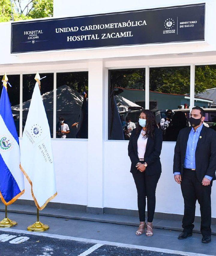 Inauguran la primera Unidad Cardiometabólica en el Hospital Zacamil