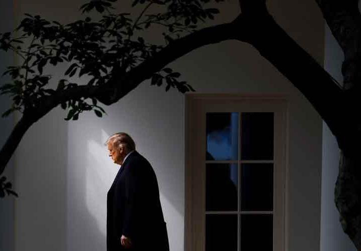 Donald Trump. Último acto