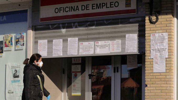 España registra el mayor número de desempleados en la historia de su país