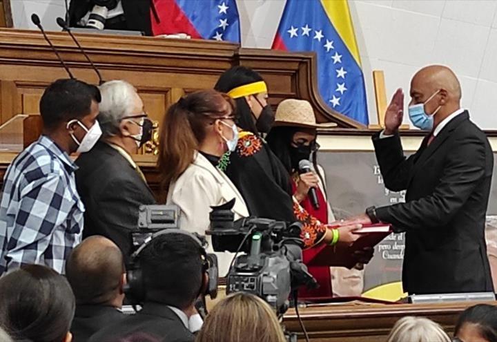 Nuevo presidente de Parlamento en Venezuela
