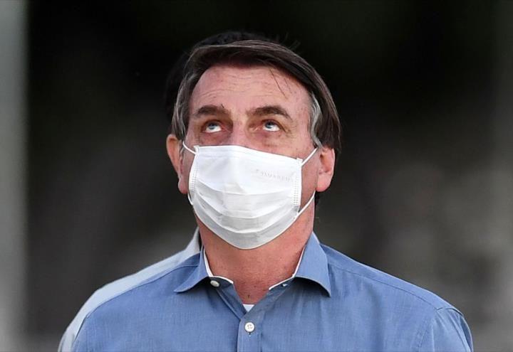 Presidente de Brasil ve con preocupación lo sucedido en el Capitolio
