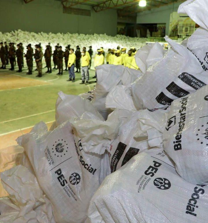 Gobierno entregará  70,000 paquetes alimentarios en el municipio de Mejicanos