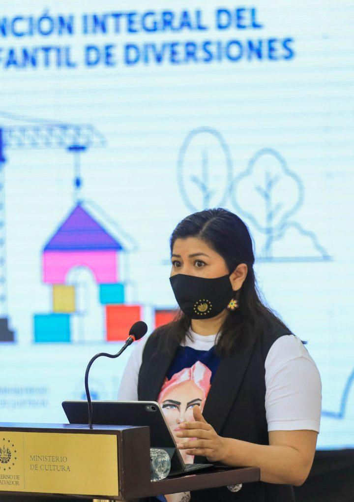 Ministerio de Cultura inicia trabajos de remodelación del Parque Infantil