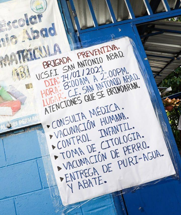 Desarrollan jornadas médicas en San Antonio Abad San Salvador