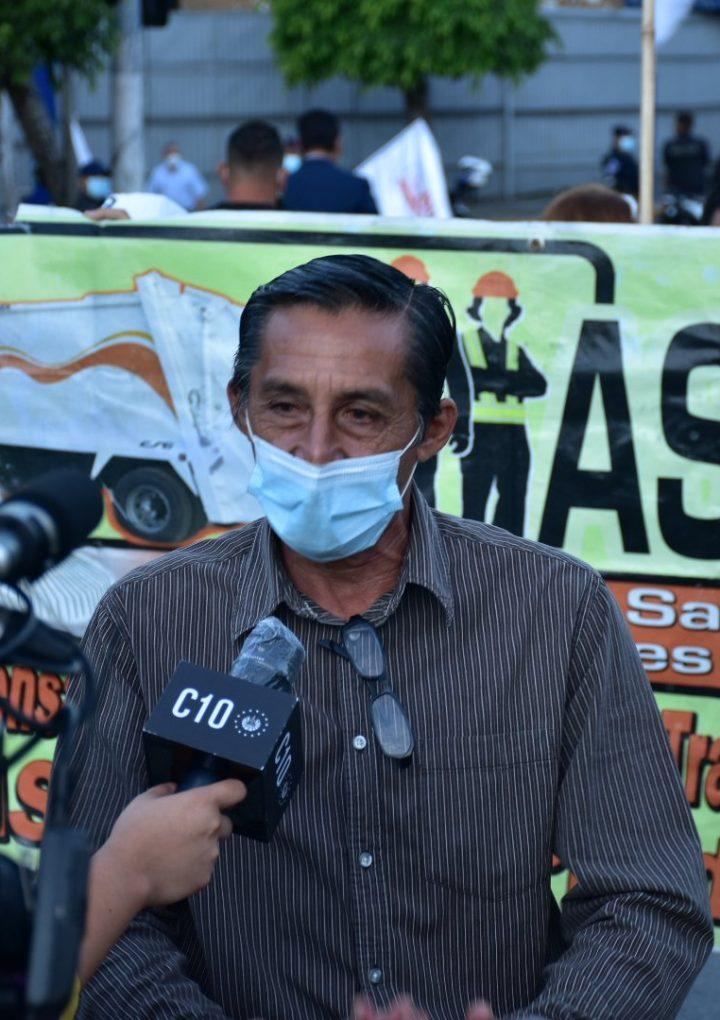Sindicalistas de ASTRAM reclaman el pago de retenciones laborales