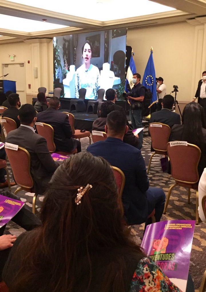 Organizaciones juveniles presentan  plataforma Legislativa 2021-2024