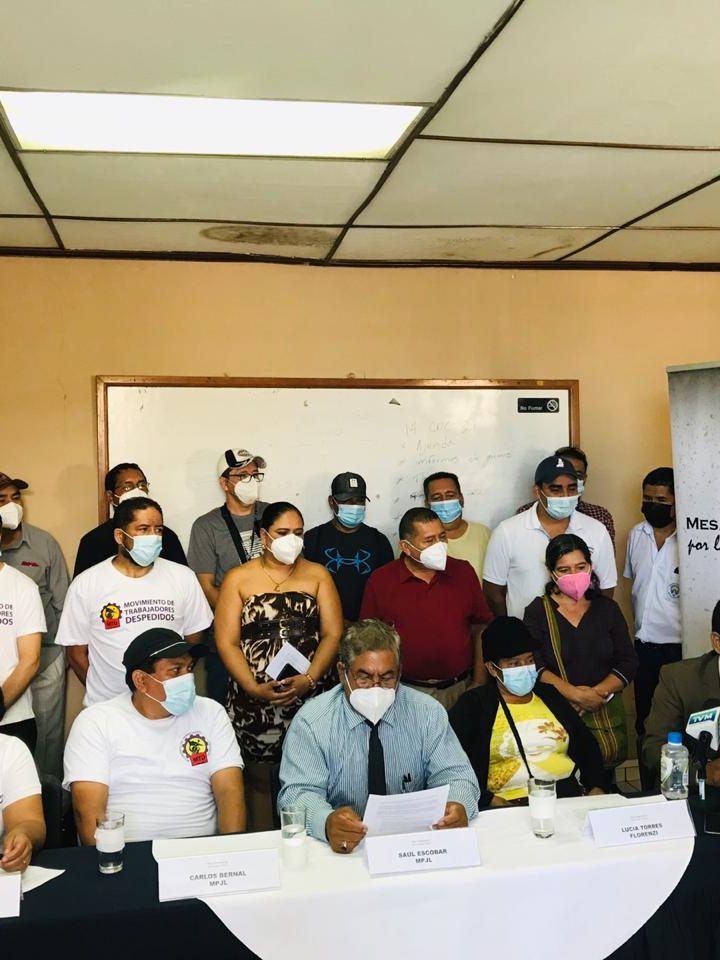 Mesa Permanente por la Justicia Laboral manifiestaron  su apoyo y solidaridad con las trabajadoras del Colectivo Florenzi