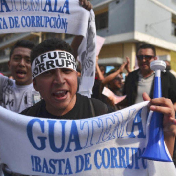 Guatemala es calificado como el tercer país con mayor índice de corrupción de América Latina