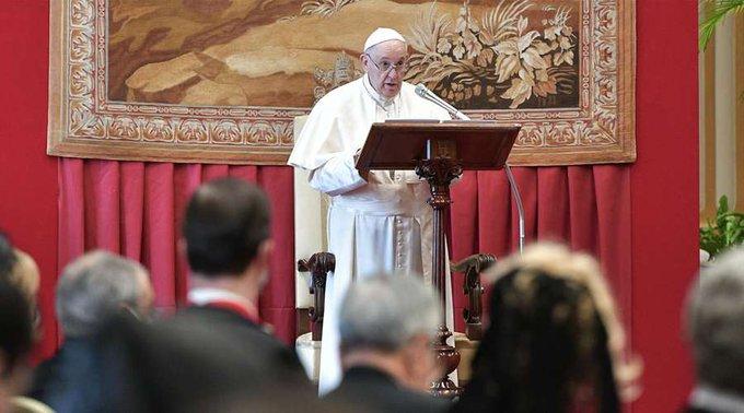 Papa Francisco lamenta que seamos un «mundo enfermo»