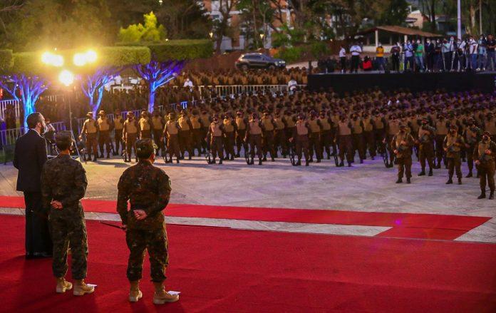 Al menos 1,000 soldados se unen al Plan Control Territorial