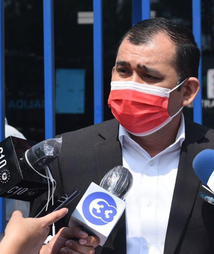 El candidato a alcalde de Soyapango por el FMLN, interpuso una aviso contra Nuevas Ideas