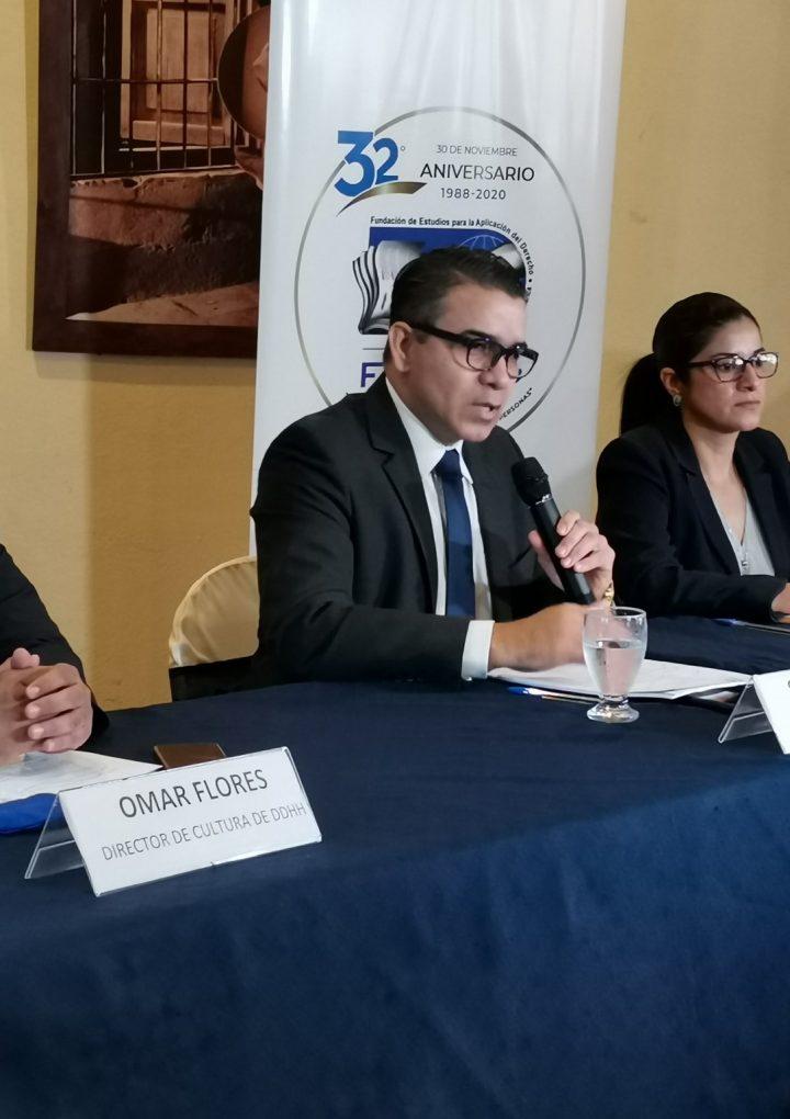 Presentan informe de Evaluación de los Derechos Humanos en El Salvador durante el año 2020