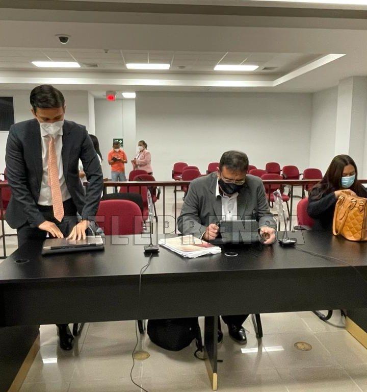 Instalan  audiencia probatoria en contra de la ex ministra, Lina Pohl y el ex ministro  Orestes Ortez