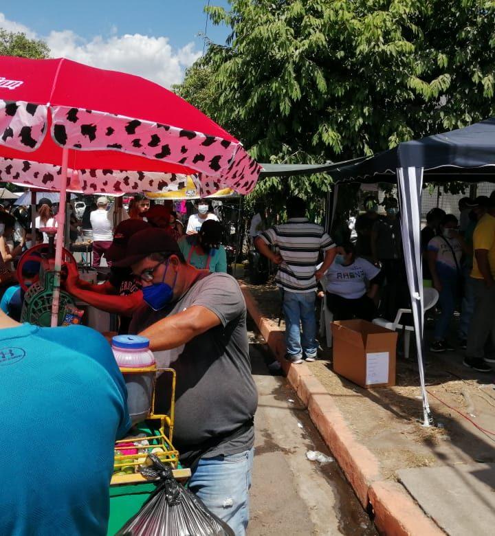 Centro de votación Antel Telecon. Donde se confunde el voto con las ventas