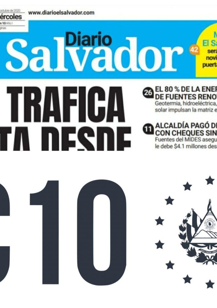 Solicitan a la FGR investigar, sobre el financiamiento de Diario El Salvador y el Canal 10 de televisión