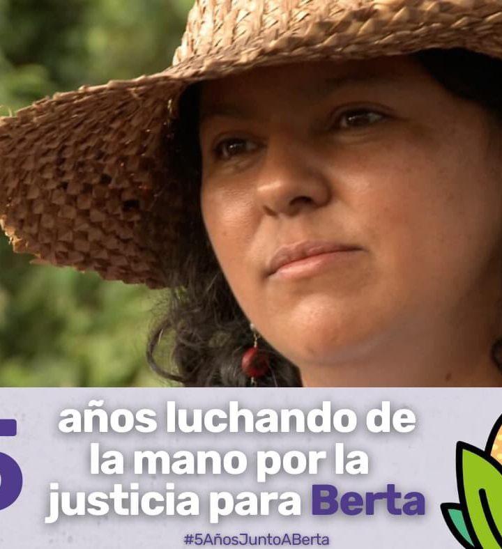 Pueblo indígena de Honduras conmemora 5° aniversario de Bertha Cáceres