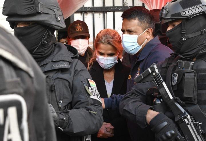 Ministro boliviano de Justicia pide 30 años de cárcel para Áñez