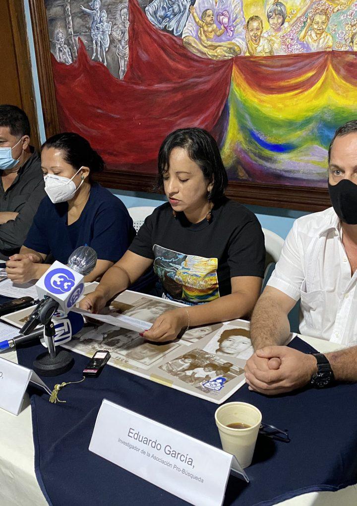 El Estado salvadoreño sigue con deudas frente a los niños y niñas desaparecidos