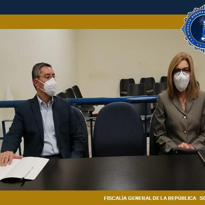 FGR pidió enviar a juicio a exministro de Seguridad Pública, René Figueroa y a su esposa por lavar $3.7 millones