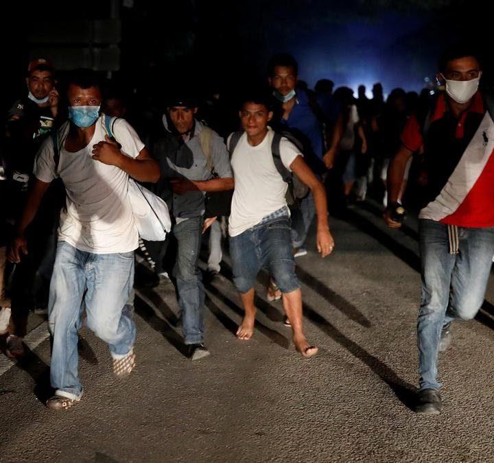 Nueva caravana de migrantes sale de Honduras rumbo a EE. UU.