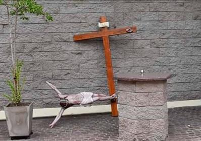 Robaron y provocaron destrozos en la catedral de Lomas de Zamora