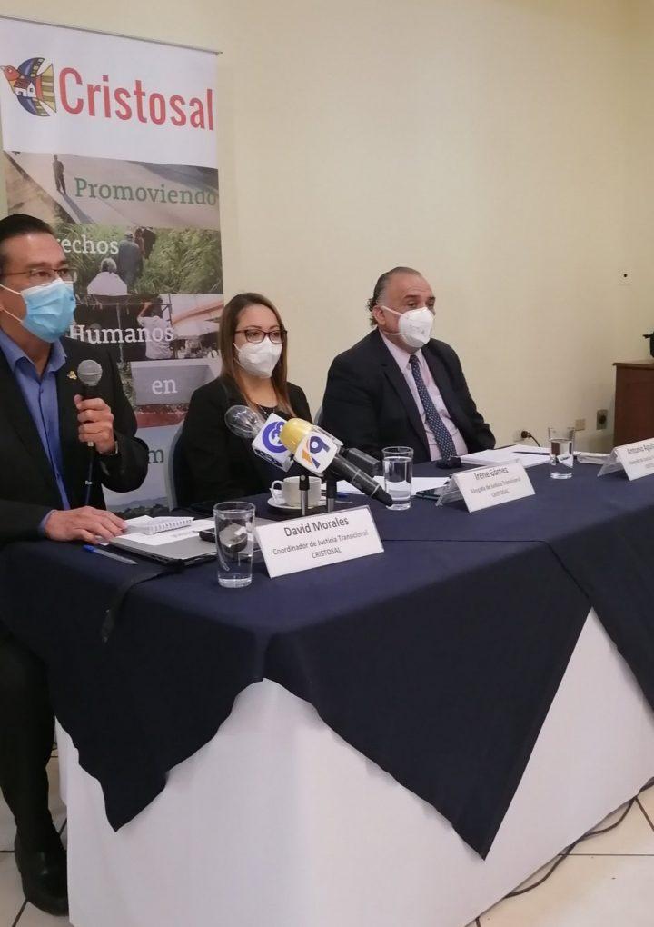 Cristosal denunció que FGR ha solicitado apartar al juez Jorge Guzmán del caso de la masacre de El Mozote